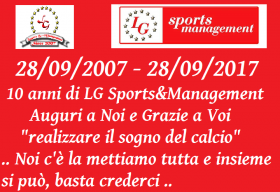 10 ANNI DI LG SPORTS&MANAGEMENT - LG Sports&Management