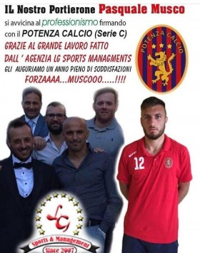 Musco in Serie C!! - LG Sports&Management